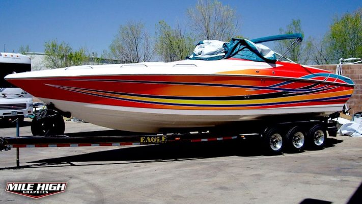 Photo of Boat Graphics by Mile High Graphics